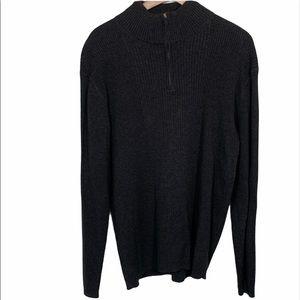 Perry Ellis Men's Dark Gray Sweater Size L